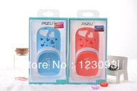 2013 New Arrival Cool Gaden Shoes Hole Slippers Silicone Back Cover Case Cover for iPhone 5 5G Free Shipping