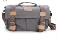 BBK-4 Canvas DSLR Camera Bag Shoulder Bag & Laptop Bag For Canon Nikon Sony