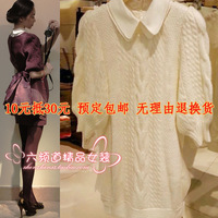 2013 autumn jorya shyh half sleeve sweater dress one-piece dress f1400601