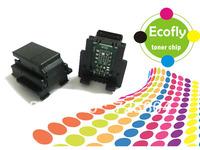 compatibal chip laser printer toner chip OKIC710/711 drum chip