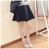 Single high quality black all-match puff skirt bust skirt