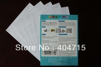 (Wholesale)BEST QUALITY --Light transfer paper  for  T-shirt   A4SIZE  MOQ: 1cartons