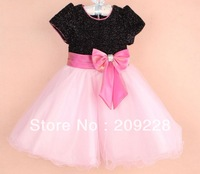 The new baby princess tutu dress child birthday party dress free shipping