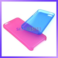 Anti-Shock High Quality Frosted Cover for iPhone 5C Transparent Case