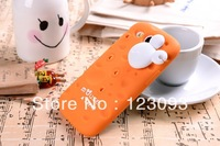 New 3D [Mouse&Chese] Cheese Style Soft Silicone Mickey Back Cover Case For Samsung Galaxy S3 I9300 With Winder Free Shipping