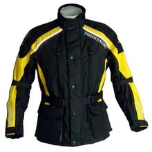 D087 DUHAN Motorcycle Jakcet Bikers Racing Jacket Motorbike Jacket yellow