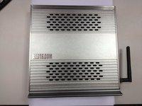 Intel Dual-core 1.8 GHz 16G SSD 4G DDR3 Desktop Video Player Mini PC TV boxes Aluminum Computer Case