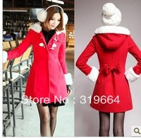 free shipping The new lovely child accept waist horn cloth coat of cultivate one's morality