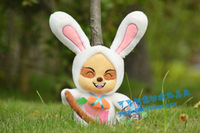Doll rabbit dolls plush toy lol temoo dolls