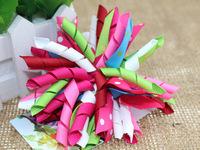 Christmas lovely Ribbon girl  barrette , free shipping