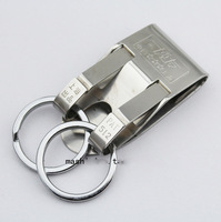 Genuine Bo Friends Stainless Steel Keychain Men's waist hanging Belt buckle Pants nose buckle Key ring