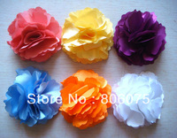 Wholesale hot sell women fashion Headdress flowers hair clip hair accessories Free shipping 50pcs/lot Mixed colors HA-10