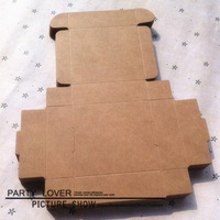 free shipping+retail craft soap packaging box kraft paper box  6.5X6x2CM