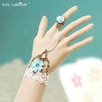 Fashion Cheap Fashion 2013 Gold Alloy Chain Chain Chunky Bracelet and dancing rings rhinestone Women Bangles Free shipping