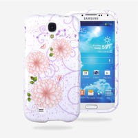 Vintage Floral Flourish Flowers Print Double Case Cover for Samsung i9500,Free Shipping+Retail