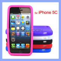 Colorful Soft Silicone Case for Apple iPhone 5C