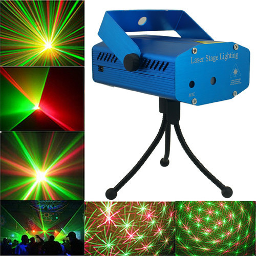 Free shipping ! New Blue Mini Projector Red &Green DJ Disco Light Stage Xmas Party Laser Lighting Show, Free Shipping,LD-BL(China (Mainland))