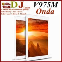 "New Arrival Original Onda v975s V975 Quad Core 9.7"" RETINA 2048*1536 A31 1GB RAM 16GB ROM Android 4.2.2 Tablet PC"