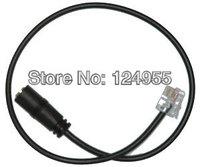 RJ9  plug to 2.5MM jack headset adaptor cord for SNOM 300 320 360 370 820 821 870
