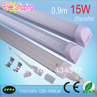 110V/240V  T5 led Tube 15W led Tube Light 0.9m
