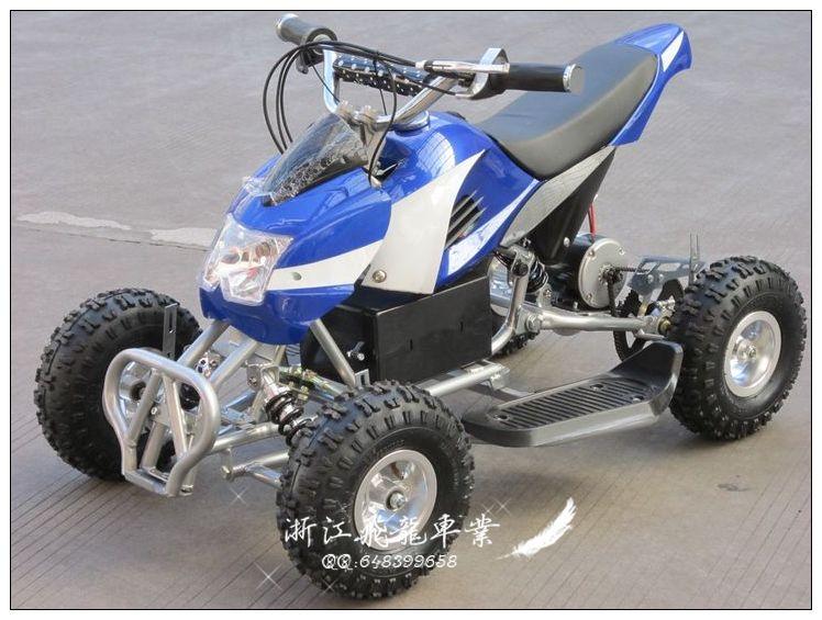 Child electric motorcycle atv small four wheel atv 49cc mini four wheel sports car 4wd(China (Mainland))