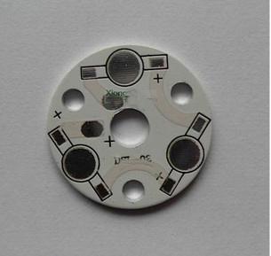 DIY LED PCB Board 3w aluminum plate 32mm LED Aluminum printed circuit board LED heat sink(China (Mainland))