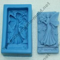 Beautiful faery Chocolate mold Cake mold cooky mold soap mpld r1027