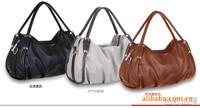 2014 Hot    Fashion Women Bags Genuine Sheepskin Handbag Lady PU Handbag 3 Colors Leather Shoulder Bag Handbags 087