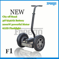 2013 lastest design F1 17inch Wheel Adult/Children 36V 36AH 2000w Lead Acid Electric Scooter For outdoor Door Sports