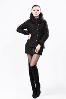 free shipping Women's plus size turtleneck short design down slim wadded jacket cotton-padded jacket thin short jacket