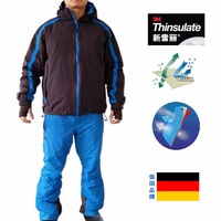 Free shipping  A0003 shirley outdoor jacket male ski skiing pants suit set