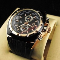 Hot Sale Silver Mens Manual Skeleton Mechanical Watch Wrist Hours Free Ship