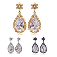 Free Shipping Min. order $15 Wholesale Quality luxury solomon earrings drop colorful earrings - 4254 - 113