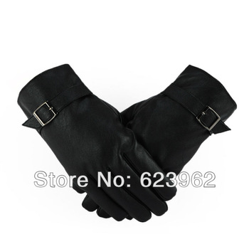 Quality sheep skin men's warm winter gloves Christmas gifts ML XL