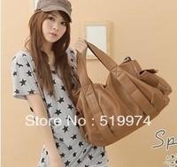 women's handbag personalized women's shoulder bags messenger bag fashion black big bag