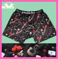 Hot selling Mens pull in underwear panties trunk swim trunks male free shipping