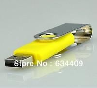 Libera Shipping  8GB 16GB 32GB giratoria USB Flash Drive F-H001