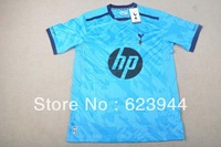 Hot Sale! Wholesale 13/14 Player Version TOP Thai Quality Tottenham Hotspur FC Soccer Jersey,Away Soccer Shirt,Free Shipping!