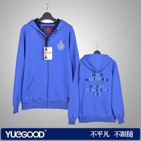 Orignal design from China men's clothing autumn and winter long-sleeve outerwear championsleague 100% cotton sweatshirt zl425