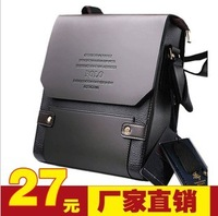 Man bag commercial polo shoulder bag messenger bag briefcase male a4 casual backpack