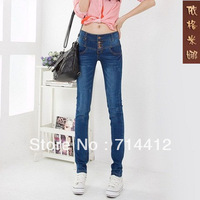 Женские брюки IFly fashion sexy candy colors pencil pants slim fit skinny summer trousers lady Plus Size 26-31 Jeans