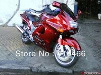 ABS Motorcycle Fairing kit for Kawasaki Ninja ZZR 1100 1993 2003  ZZR 1100D 93 03 ZZR1100D ZX11 hot red fairings bodywork KH88