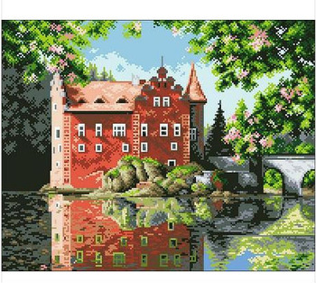 Counted Cross Stitch Best Quality Luxurious Flower Garden ...