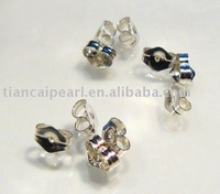 925 Sterling Silver Ear Nuts Closure for Post Earrings Earring Back&Earring Stopper Jewelry Accessories Findings Fittings