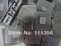 2013 New bga reballing tools kit manual reball station holder jig with 27pcs heat directly Universal BGA stencils