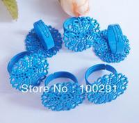25MM BLUE COLORFUL RING SETTINGS & 500PCS/LOT  MP-D996