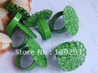 100piece 25mm Green Ring blanks ring base ring settings