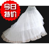 The bride wedding accessories pannier steel 2- 3 yarn big train wedding dress lining