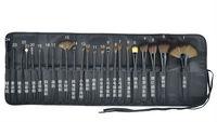 100PCS/lot Professional 24 Makeup Brushes 24PCS Cosmetic Facial Makeup Brushes Kit MakeUp Brush Set with Bag Make Up Brushes