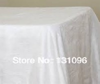 High Quality  Rectangle 147cmx304cm Taffeta  Table Cloth For Wedding Event &Party &Hotel &Resturant Decoration
